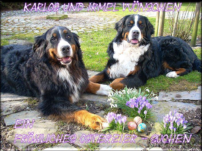 Karlos und Irmel Ostern 2016